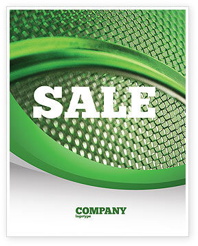 Abstract/Textures: Wire Mesh Sale Poster Template #02492