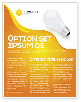 Consulting: Lamp Flyer Template #02494