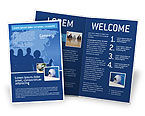 Global: Globalization Brochure Template #02495