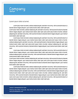 Global: Globalization Letterhead Template #02495