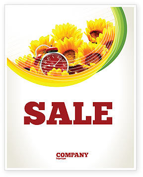 Country Life Sale Poster Template, 02498, Medical — PoweredTemplate.com