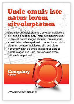 Business Concepts: Modelo de Anúncio - salvando bóia #02501
