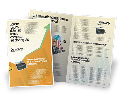 Business Concepts: Modello Brochure - Zigzag #02504