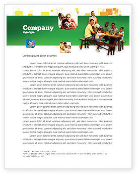 People: Junket Letterhead Template #02505
