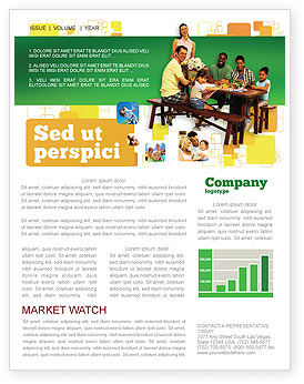 People: Junket Newsletter Template #02505