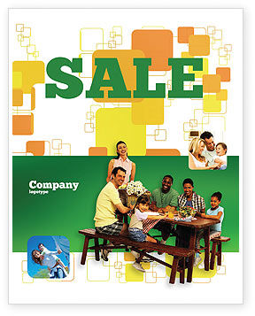 People: Junket Sale Poster Template #02505