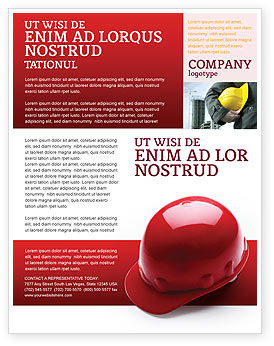 Personal Safety Flyer Template, 02510, Careers/Industry — PoweredTemplate.com