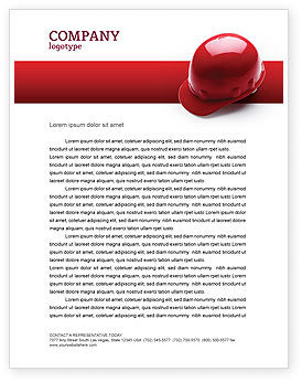Careers/Industry: Personal Safety Letterhead Template #02510