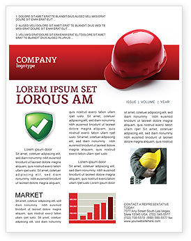 Careers/Industry: Personal Safety Newsletter Template #02510