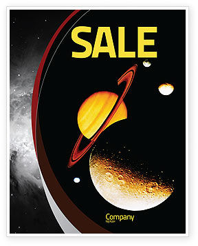 Open Space Sale Poster Template