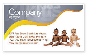 Nursery Business Card Template