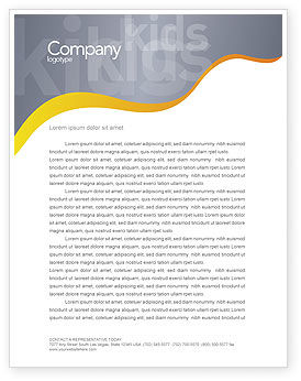 People: Nursery Letterhead Template #02518