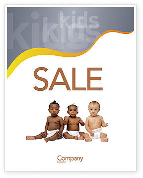 People: Nursery Sale Poster Template #02518