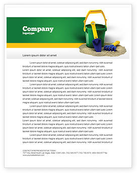 Child's play Letterhead Template, 02520, Education & Training — PoweredTemplate.com