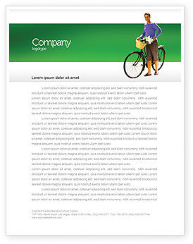 People: Wellness Letterhead Template #02522