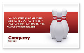Skittles Business Card Template, 02524, Sports — PoweredTemplate.com