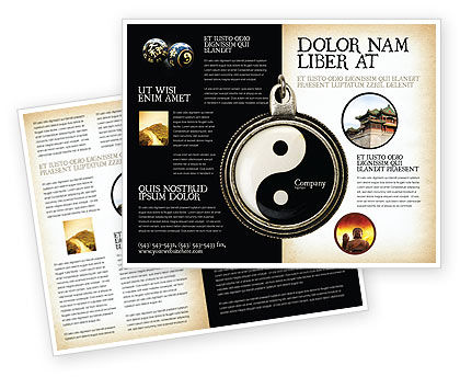 Yin yang brochure template design and layout download now 02525 yin yang brochure template toneelgroepblik Gallery