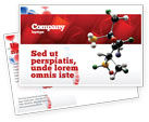 Technology, Science & Computers: Genetically Recombinant Medicine Postcard Template #02526