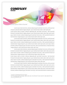 Nature & Environment: Global Warming Letterhead Template #02536