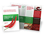 Food & Beverage: Hot Pepper Brochure Template #02550