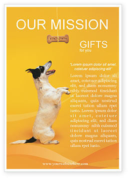 Business Concepts: Pet Advertentie Template #02559