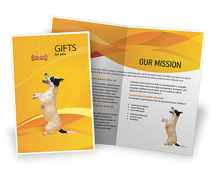 Business Concepts: Pet Brochure Template #02559