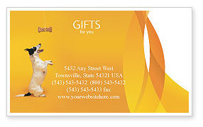 Pet Business Card Template