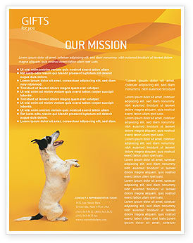 Business Concepts: Pet Flyer Template #02559