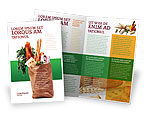 Food & Beverage: Producten Brochure Template #02561