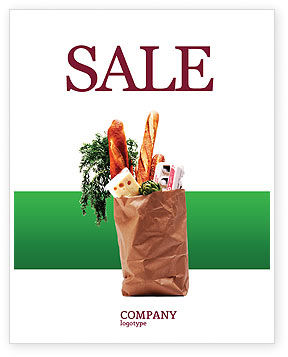 Food & Beverage: Products Sale Poster Template #02561