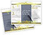 Education & Training: Plantilla de folleto - música impresa #02563
