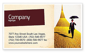 Dream Land Business Card Template, 02566, Business — PoweredTemplate.com