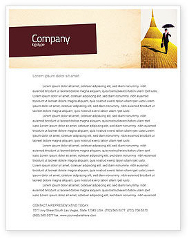 Business: Dream Land Letterhead Template #02566