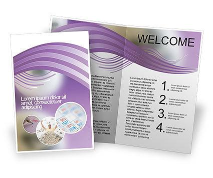 Art & Entertainment: Modelo de Brochura - bolas de loto #02574