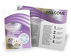Art & Entertainment: Lotto Balls Brochure Template #02574