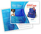 Education & Training: School Backpack Brochure Template #02577