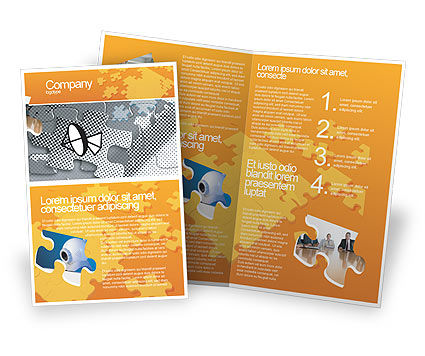Communication Technology Brochure Template Design And Layout - Technology brochure template
