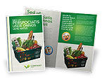 Careers/Industry: Market Basket Brochure Template #02583