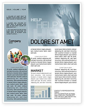 Help Newsletter Template