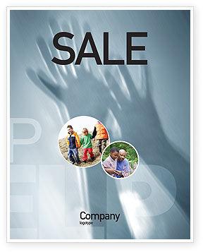 Help Sale Poster Template, 02584, Religious/Spiritual — PoweredTemplate.com