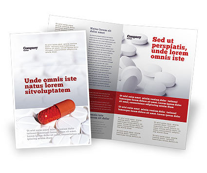 Brochures Similar To Drug Treatment Brochure Template | 05572