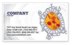 Cytology Business Card Template