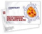 Medical: Cytology Postcard Template #02595