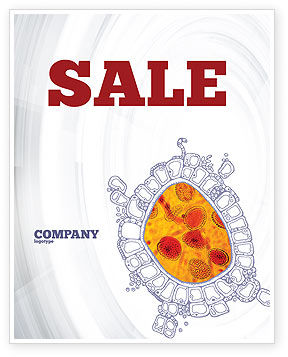 Cytology Sale Poster Template, 02595, Medical — PoweredTemplate.com