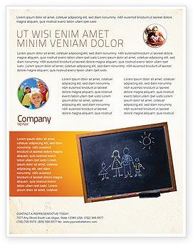 Education & Training: Modelo de Folheto - crianças e escola #02597