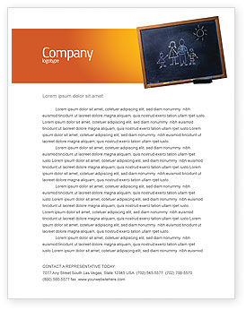 Education & Training: Kids and School Letterhead Template #02597