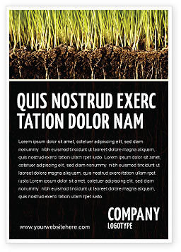 Nature & Environment: Soil Ad Template #02607