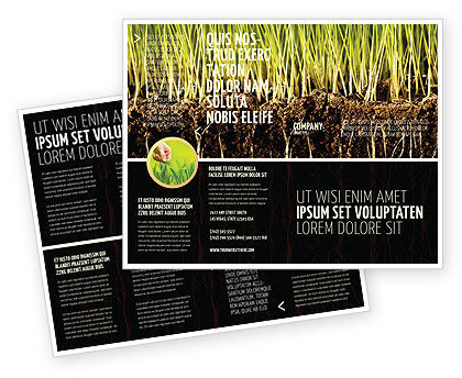 Nature & Environment: Bodem Brochure Template #02607