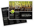 Nature & Environment: Soil Brochure Template #02607