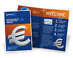Financial/Accounting: European Union Brochure Template #02642